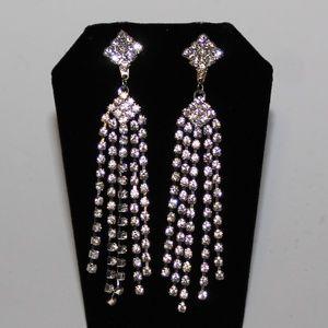 Jewelry - Prom earrings Dangles Diamond Shape Earrings